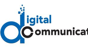 Digital. Communication logo
