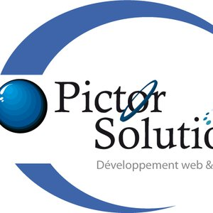 PICTOR SOLUTION logo