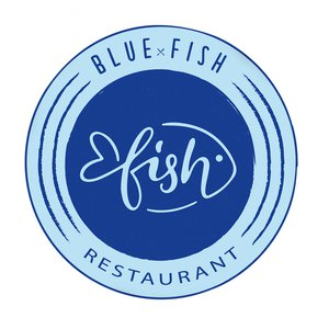RESTAURANT  BLUE FISH logo