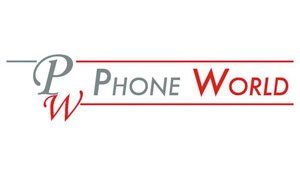 PHONE WORLD logo