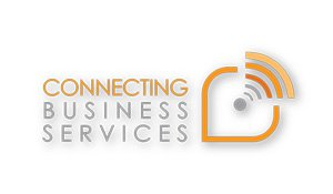 CONNECTING BUSINESS SERVICE logo